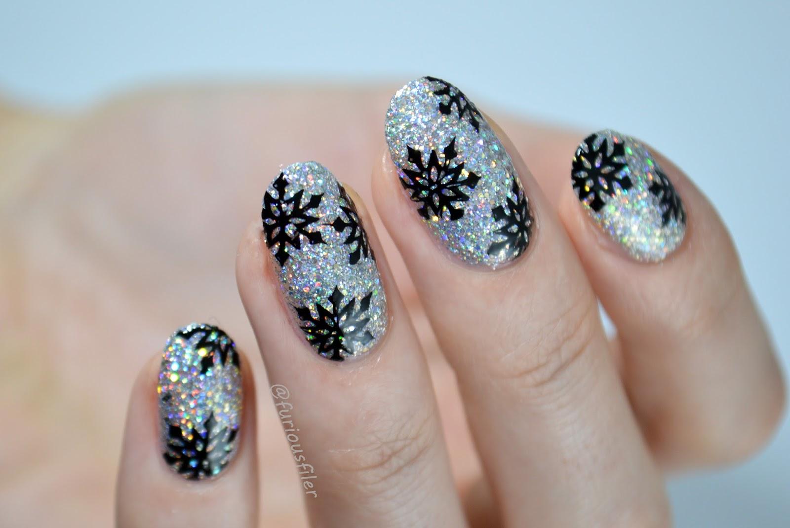glitter snowflakes floss gloss dimepiece furious filer
