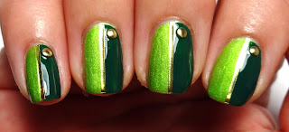 Green Stud Nails
