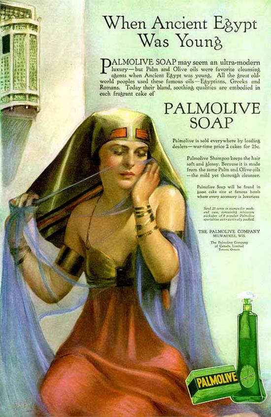 Palmolive Soap, ad 1918