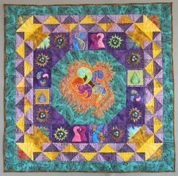Nesting 2 Wall Quilt photo