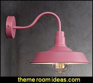 Industrial Barn Style Wall Sconce