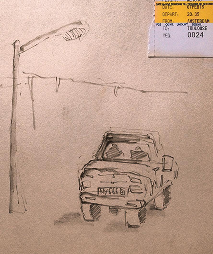 Car-fast-sketch