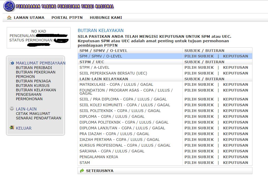 Cara Yang Betul Untuk Mohon Ptptn Online Mypendidikanmalaysia Com