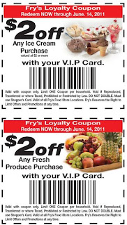 frys food coupons policy