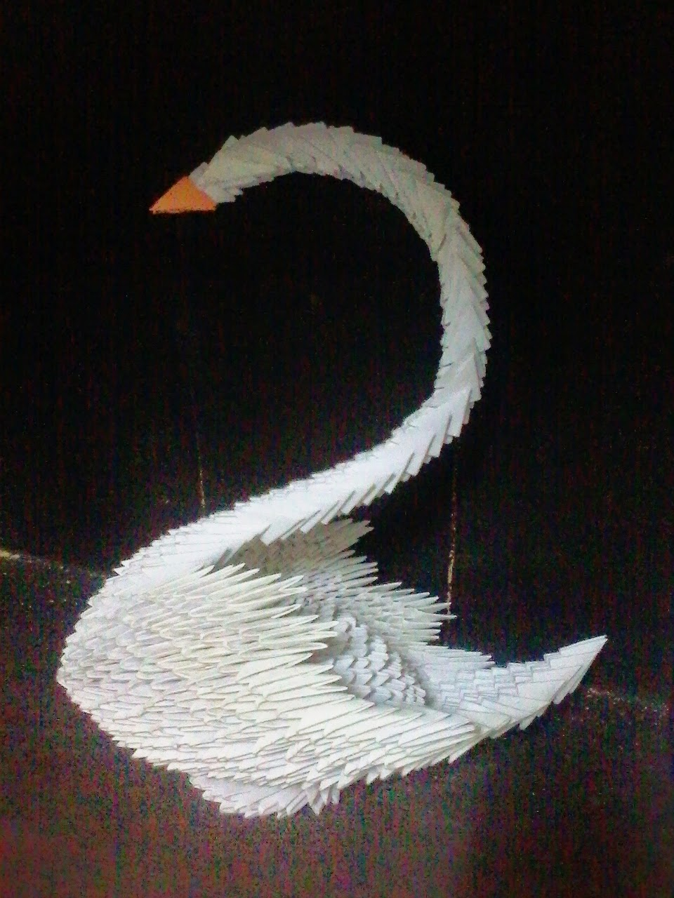 Musings Of Anu: 3D Origami Art-Swan,Fish- Inspired from ... - photo#16