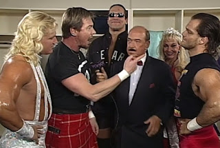 WCW Uncensored 1997 - Roddy Piper and The Four Horsemen cut a backstage promo