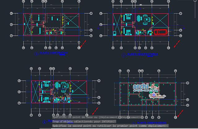 Housing -homeroom in AutoCAD