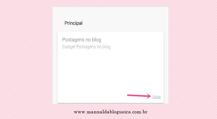 paginação numerada no blog