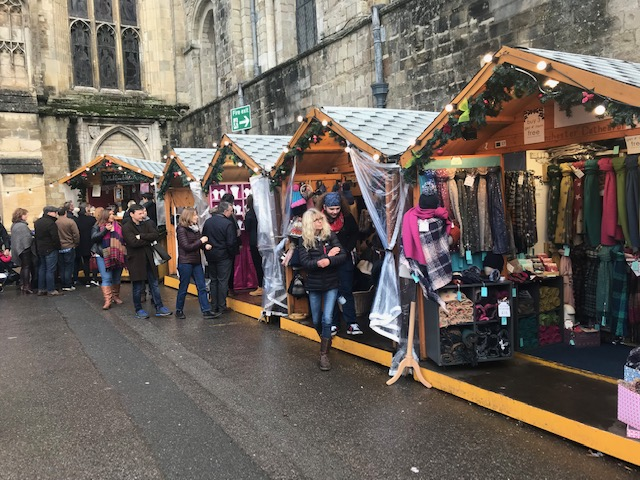 Winchester, Christmas, Market, Cathedral, 2018