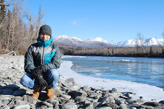 Felix packed in as much of Alaska as possible during his semester at UAA, including this hike on the Kenai River Trail near Skilak Lake. (Photo courtesy of Felix Lesser)