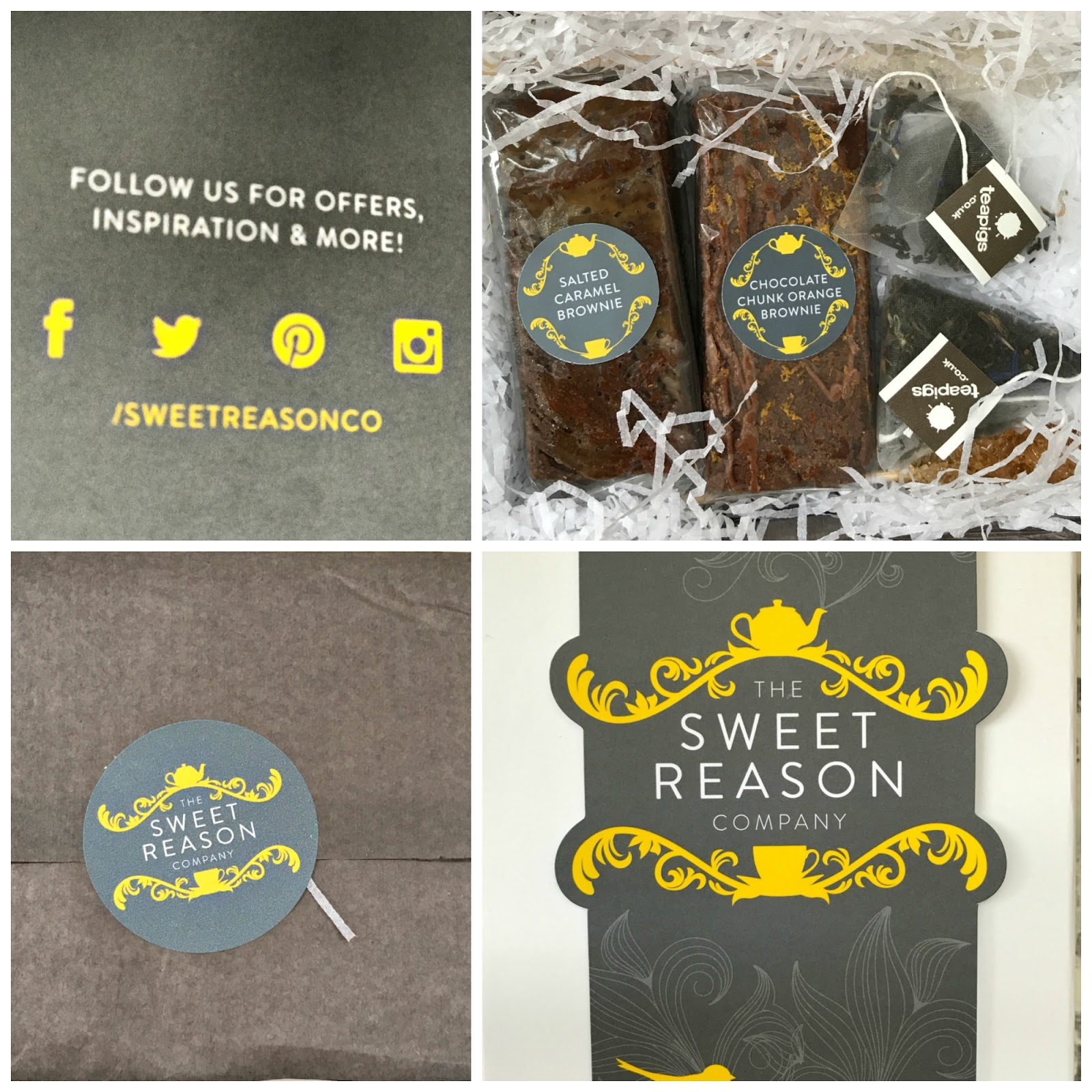 Win An Indulgent Box of Brownies From The Sweet Reason Company