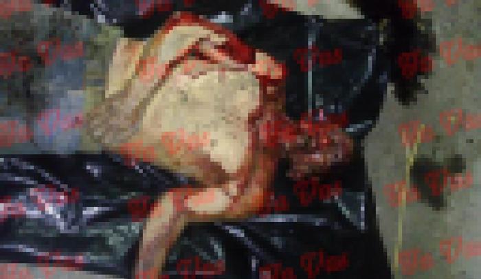 Sicarios lo sacan de su casa y en la calle le cortan los pies y la cabeza vivo