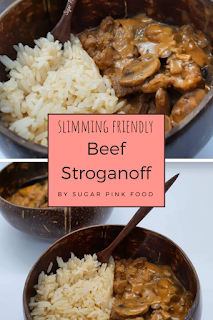 Beef Stroganoff Recipe, slimming world recipes with mince