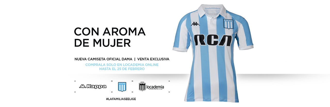 b5bdfba61 Nueva camiseta Kappa Racing Club Avellaneda (ARG) 2018