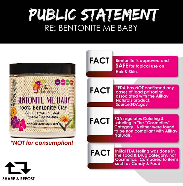 Alikay Naturals vs. the FDA: What's REALLY Going on with Bentonite Me Baby?!