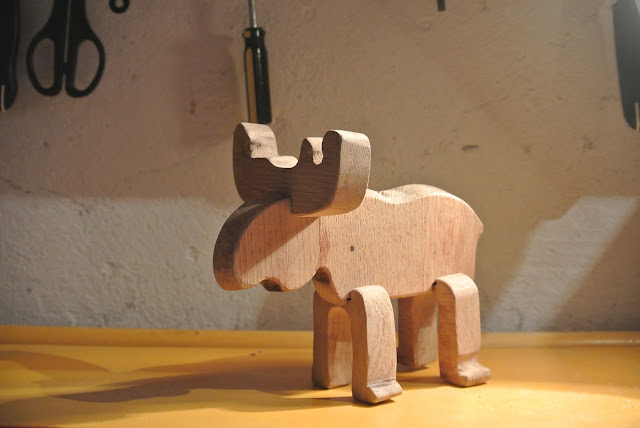 make it yourself wooden animal