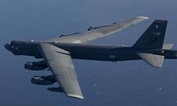 Το 'ιπτάμενο φρούριο' B-52 των ΗΠΑ πέταξε πάνω από το Αιγαίο μέχρι την Κύπρο