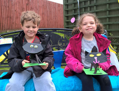Children at Cornwall Adoption Centre's Easter event