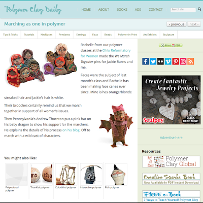 Polymer Clay Daily Blog...