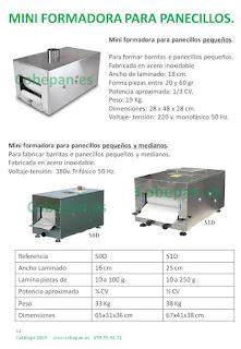 MiniFormadoras panecillos.