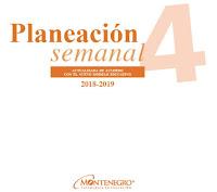 Planeación trimestral anual Cuarto Grado nuevo modelo educativo