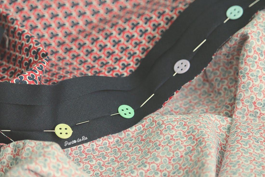 Cómo aumentar el largo de las prendas dobladillo postizo