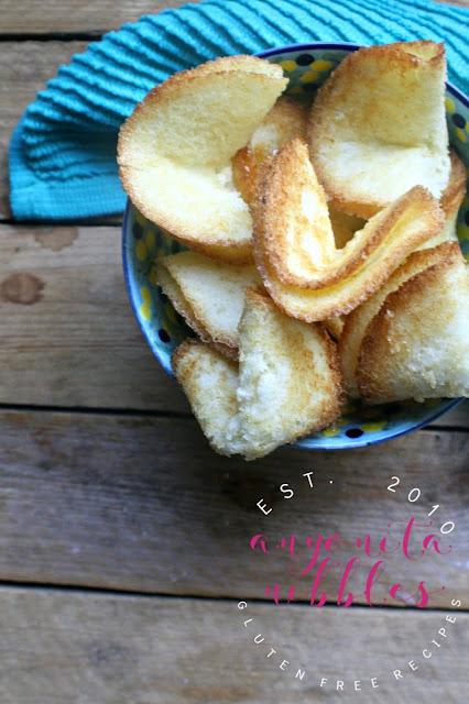 Gluten Free Vanilla Fortune Cookies #GBBOGlutenFree