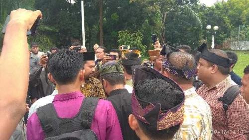 Setelah Bertemu Pengurus LAMR, Ketua GP Ansor Riau Diusir Komponen Masyarakat Melayu