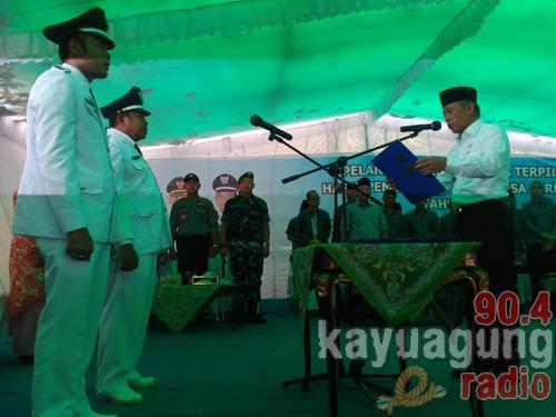 H. Iskandar SE : Kades Harus  Semangat Membangun dan Memajukan Kabupaten OKI Mulai Dari Desa