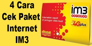 4 Cara Cek Sisa Kuota Paket Internet IM3 Ooredoo