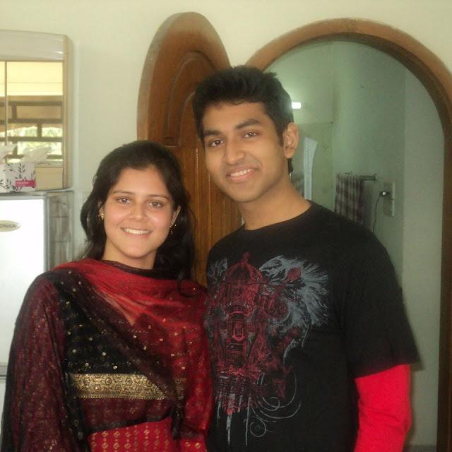 Tamim Mridha and His Sister