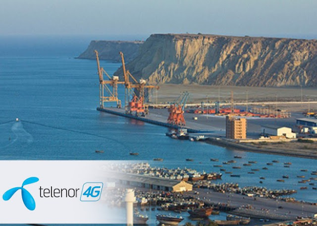 Telenor now Powered Gwadar City with its best-in-class 4G Services