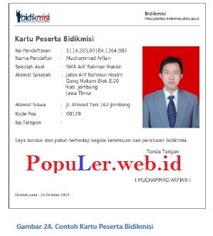 Form Pendaftaran Online Beasiswa Bidik Misi 2019 2020 Populer Web Id