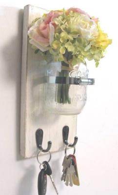 Blizzy Glizzy: Come fare un portafiori o portacandele da parete con i ...