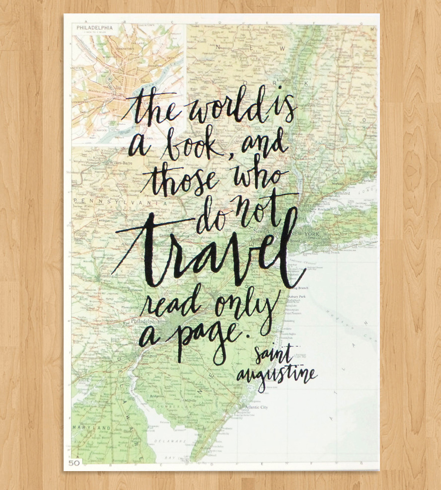 Quote Wall Art Print