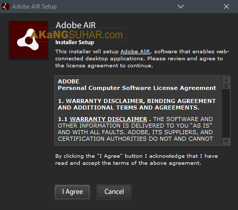 Download Adobe AIR Final Offline Installer Terbaru latest version