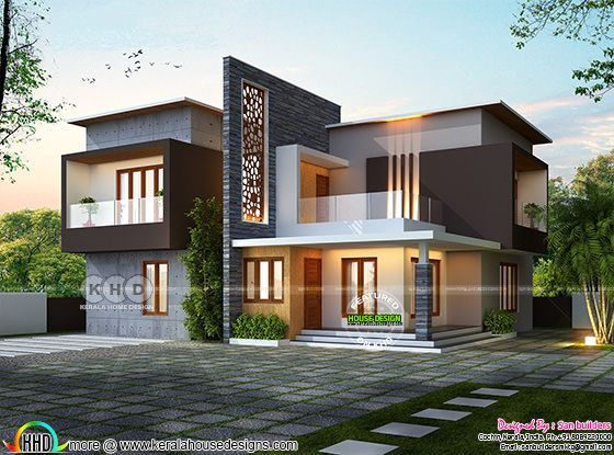 Awesome ultra modern contemporary house 2356 sq-ft