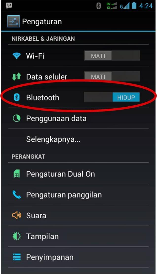 Cara Mengganti Nama Bluetooth Andromax Smartfren 1