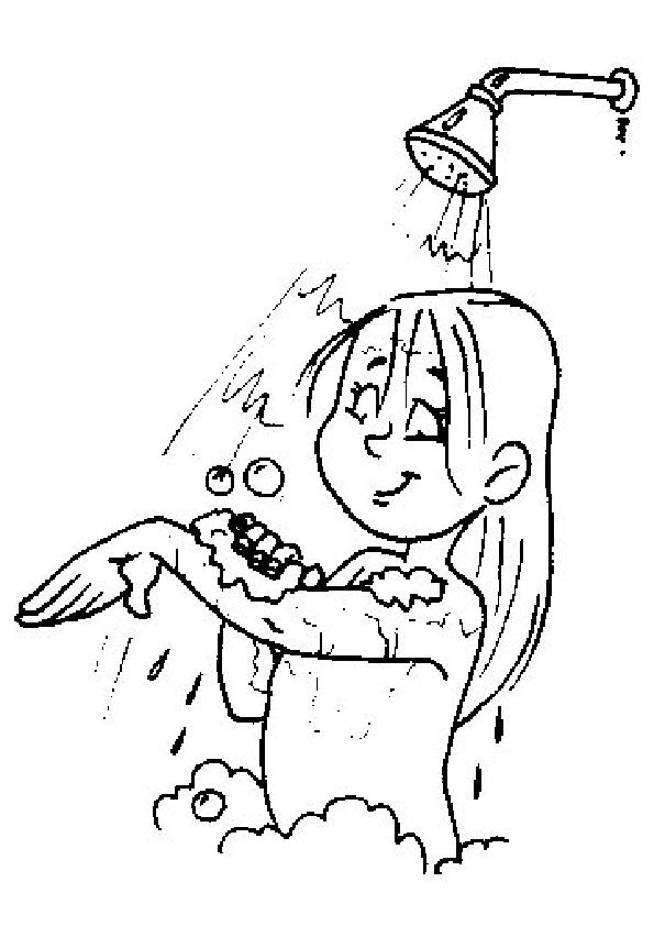 Higiene dibujos para pintar | Pop Guernica