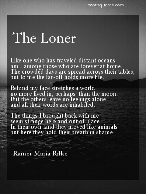Rainer Maria Rilke Poems