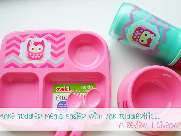 Make Toddler Meals Easier with Zak Toddlerific! {A Review}