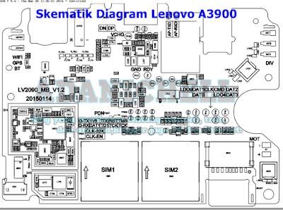 Skematik Diagram Lenovo A3900