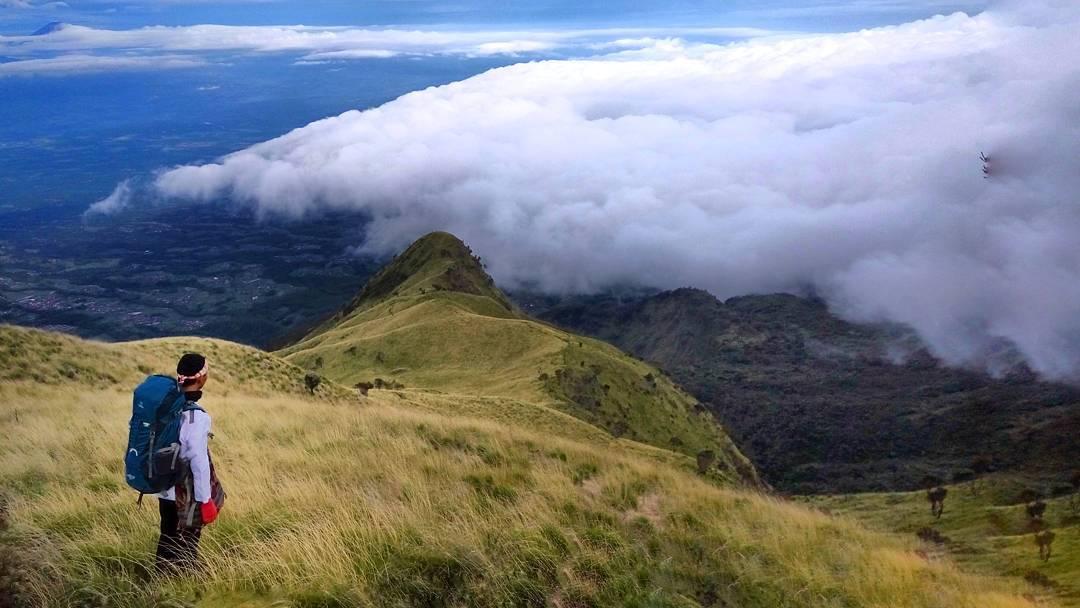 gunung pemandangan terbaik