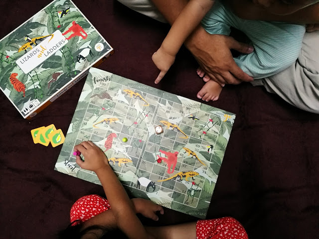 happy go KL board games lizards and ladders