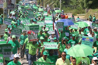Movimiento Marcha Verde hace llamado a sociedad dominicana