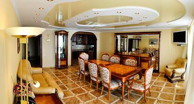 Фотогалерея 2-уровневых апартаментов отельного комплекса в Семидворье