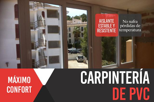 Ventanas, cerramientos y puertas de PVC y aluminio en Mallorca