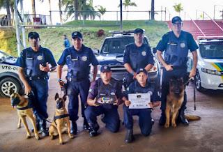Canil da Guarda Municipal de Santa Bárbara d´Oeste vence Campeonato de Cães de Polícia