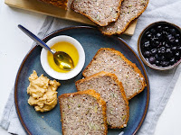 Gluten Free Vegan Buckwheat Bread