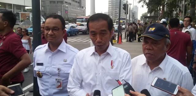 Berlanjut, Jokowi Bagi-Bagi Sertifikat Tanah Di Cempaka Putih Jakarta